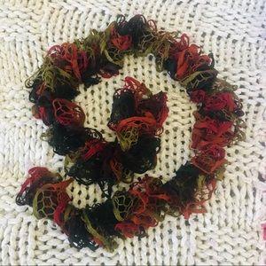 Accessories - Autumn 🍂 Colors Crochet Scarf 🧣